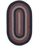 RugStudio presents Capel Rolling Hills 55301 Braided Area Rug