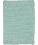 RugStudio presents Capel Custom Classics 108215 Light Green Braided Area Rug