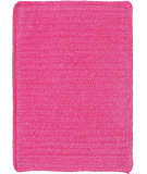 RugStudio presents Capel Custom Classics 108205 Brt. Pink Braided Area Rug