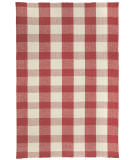 RugStudio presents Capel Mercia 116355 Scarlet Flat-Woven Area Rug