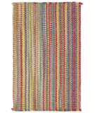 RugStudio presents Capel Nags Head 43903 Bright Multi Braided Area Rug