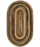 RugStudio presents Capel Eaton 67044 Green Braided Area Rug