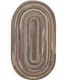 RugStudio presents Capel Eaton 67043 Dark Beige Braided Area Rug