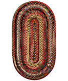 RugStudio presents Capel Eaton 67046 Multicolor Braided Area Rug