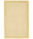 RugStudio presents Capel Millwood 43871 Pale Gold Braided Area Rug