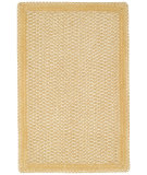RugStudio presents Capel Millwood 67094 Pale Gold Braided Area Rug