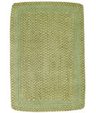 RugStudio presents Capel Millwood 43872 Leaf Green Braided Area Rug