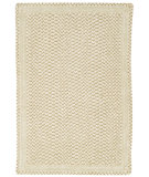 RugStudio presents Capel Millwood 43874 Eggshell Braided Area Rug