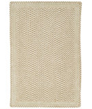 RugStudio presents Capel Millwood 67091 Eggshell Braided Area Rug