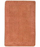 RugStudio presents Capel Millwood 67090 Cinnamon Braided Area Rug