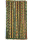 RugStudio presents Capel Sherwood Forest 67127 Green Olive Braided Area Rug
