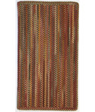 RugStudio presents Capel Sherwood Forest 67133 Red Braided Area Rug