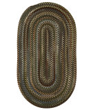 RugStudio presents Capel Sherwood Forest 67123 Coffee Braided Area Rug