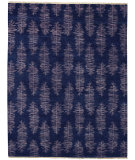 RugStudio presents Capel Frasier 116222 Navy Hand-Knotted, Best Quality Area Rug