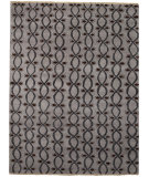 RugStudio presents Capel Eternity 116321 Coal Hand-Knotted, Best Quality Area Rug