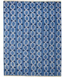 RugStudio presents Capel Eternity 116322 Blue Hand-Knotted, Best Quality Area Rug