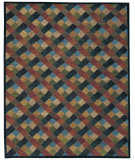 RugStudio presents Rugstudio Sample Sale 54998R Harlequin Hand-Knotted, Good Quality Area Rug