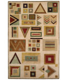 RugStudio presents Capel Crystalle-Chevron 55055 Hand-Knotted, Good Quality Area Rug