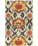 RugStudio presents Capel Classic-Oak 121933 Crimson Hand-Knotted, Good Quality Area Rug