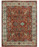 RugStudio presents Capel Heritage-Shiraz 121942 Red Hand-Knotted, Good Quality Area Rug
