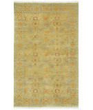 RugStudio presents Capel Sullivan Street 116399 Yellow Hand-Knotted, Good Quality Area Rug