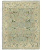 RugStudio presents Capel Sullivan Street 116400 Lt. Green Hand-Knotted, Good Quality Area Rug