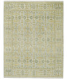 RugStudio presents Capel Sullivan Street 116402 Sterling Hand-Knotted, Good Quality Area Rug