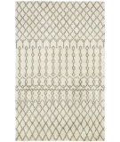 RugStudio presents Capel Fortress-Trellis 116329 Pale Beige Hand-Knotted, Good Quality Area Rug