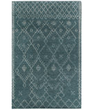 RugStudio presents Capel Fortress-Diamond 116326 Spa Hand-Knotted, Good Quality Area Rug