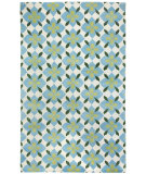 RugStudio presents Capel Blossom 116239 Moss Pine Hand-Knotted, Good Quality Area Rug