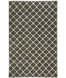 RugStudio presents Capel Picket 116257 Light Charcoal Hand-Knotted, Good Quality Area Rug