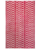 RugStudio presents Capel Twirl 116340 Blush Cream Hand-Knotted, Good Quality Area Rug