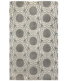 RugStudio presents Capel Princeton 116358 Light Charcoal Cream Hand-Knotted, Good Quality Area Rug