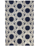 RugStudio presents Capel Princeton 116359 Dark Blue Hand-Knotted, Good Quality Area Rug
