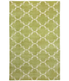 RugStudio presents Capel Yale 116420 Moss Cream Hand-Knotted, Good Quality Area Rug