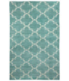 RugStudio presents Capel Yale 116422 Pale Blue Cream Hand-Knotted, Good Quality Area Rug