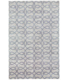 RugStudio presents Capel Symphonic 121991 Ash Hand-Knotted, Good Quality Area Rug