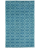 RugStudio presents Capel Symphonic 121992 Periwinkle Hand-Knotted, Good Quality Area Rug