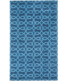 RugStudio presents Capel Symphonic 121993 Midnight Blue Hand-Knotted, Good Quality Area Rug