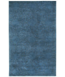 RugStudio presents Capel Coil 121935 Navy Hand-Knotted, Good Quality Area Rug
