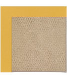 RugStudio presents Capel Zoe-Cane Wicker 108377 Jonquil Area Rug