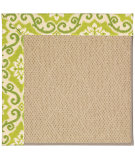 RugStudio presents Capel Zoe-Cane Wicker 55558 Machine Woven, Best Quality Area Rug