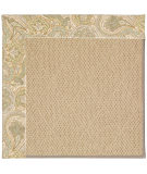 RugStudio presents Capel Zoe-Cane Wicker 55572 Neutral/Floral Machine Woven, Best Quality Area Rug