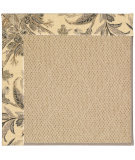 RugStudio presents Capel Zoe-Cane Wicker 55574 Neutral/Tropical Machine Woven, Best Quality Area Rug