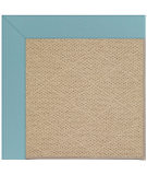 RugStudio presents Capel Zoe-Cane Wicker 108372 Bright Blue Area Rug