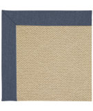 RugStudio presents Capel Zoe-Cane Wicker 67160 Blue Jean Machine Woven, Good Quality Area Rug