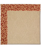 RugStudio presents Capel Zoe-Cane Wicker 55612 Machine Woven, Best Quality Area Rug