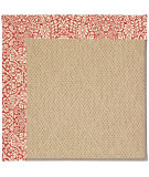 RugStudio presents Capel Zoe-Cane Wicker 55616 Machine Woven, Best Quality Area Rug