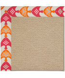RugStudio presents Capel Zoe-Cane Wicker 108369 Autumn Area Rug