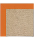 RugStudio presents Capel Zoe-Cane Wicker 108374 Clementine Area Rug